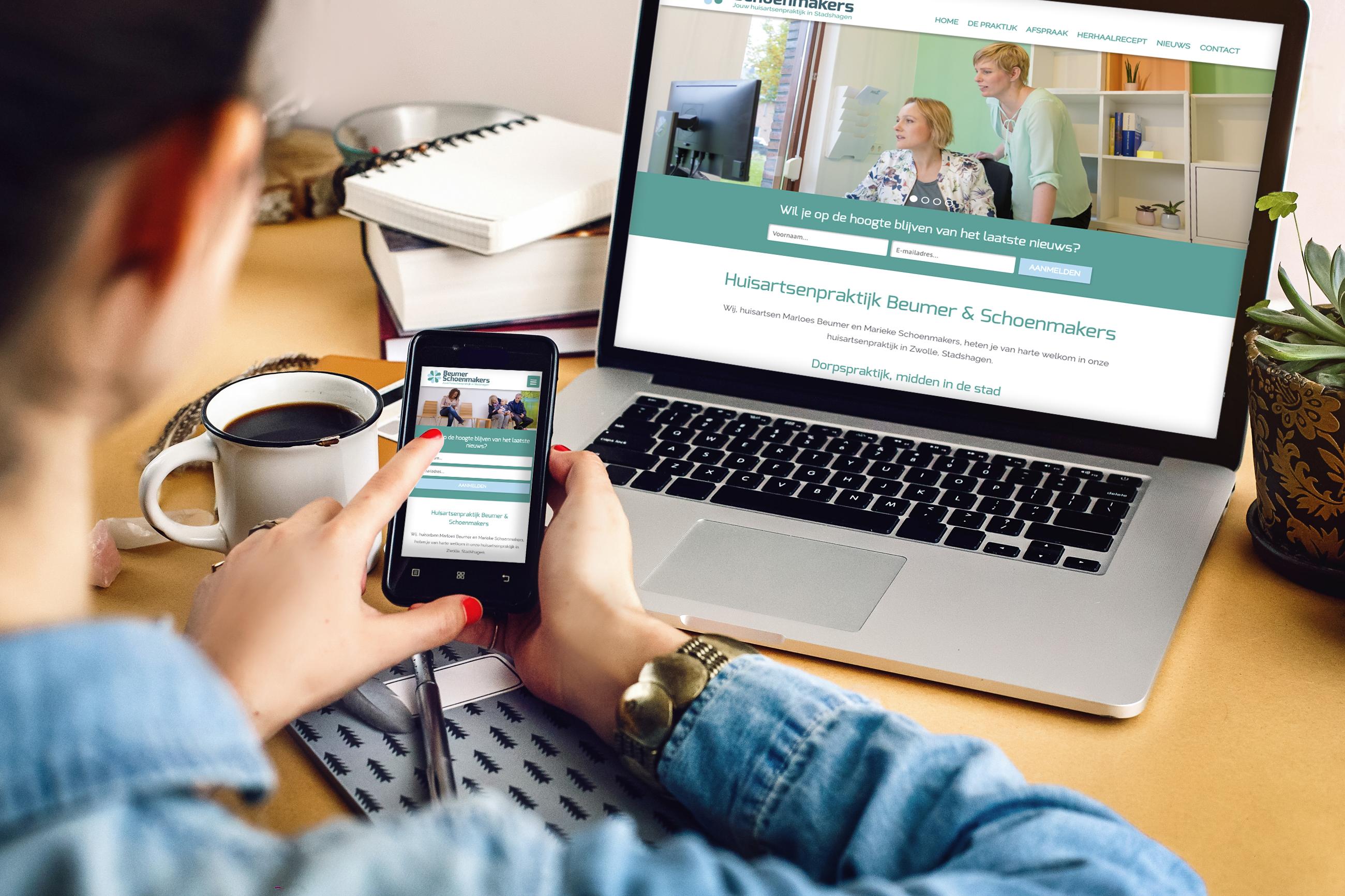 Een mobile ready website en infrastructuur nuttig en noodzakelijk